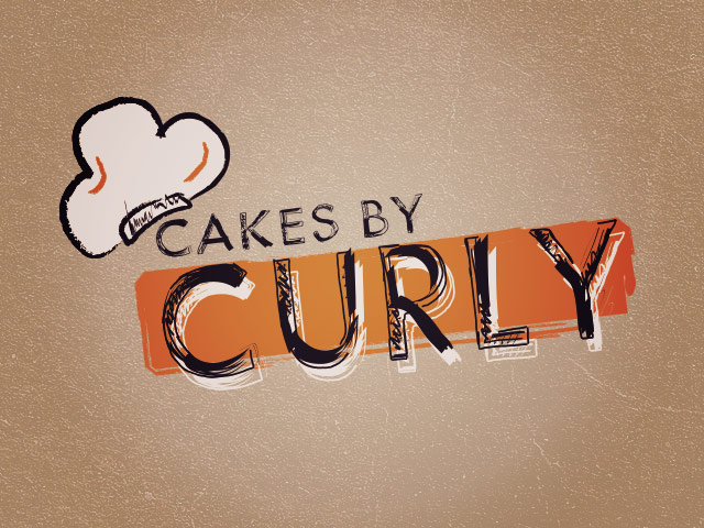 Baker Logo: Cakes By Curly