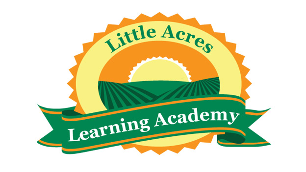 Little Acres Daycare Logo Emblem by BullzeyeDesign.com