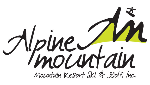 Alpine Ski Resort Logo by BullzeyeDesign.com