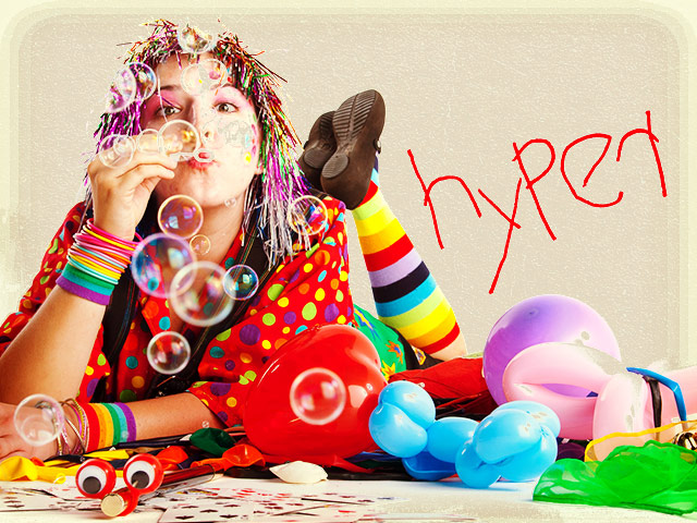 Hyper the Clown Website