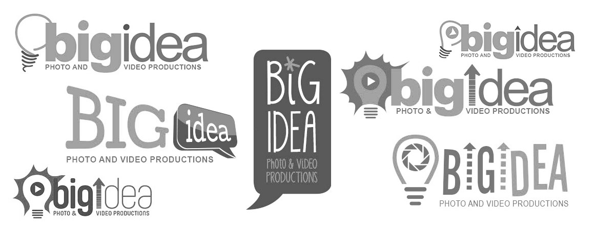 big idea logo design options by BullzeyeDesign.com