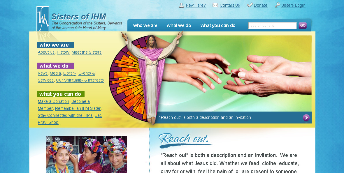 IHM Congregation Website