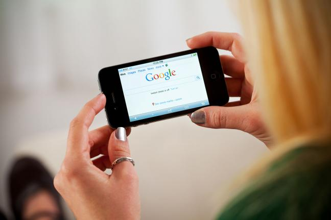 Google ranks mobile friendly sites
