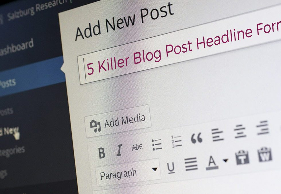 5 Killer Blog Post Headline Formulas that MAKE people click (with examples)