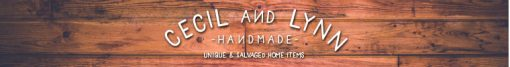 Etsy shop banner for Cecil and Lynn