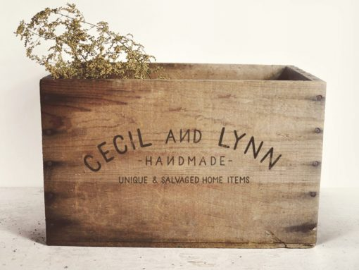 Cecil and Lynn Etsy Shop Logo Design