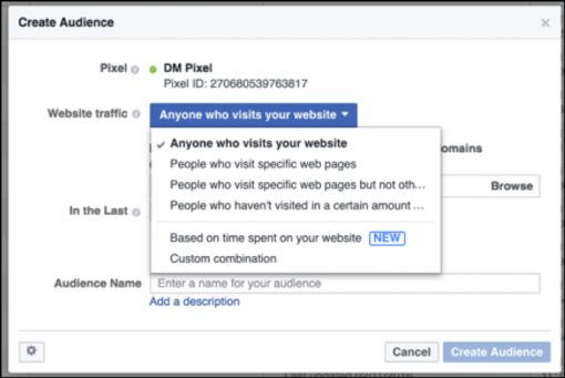 Facebook Custom Audiences Set Up
