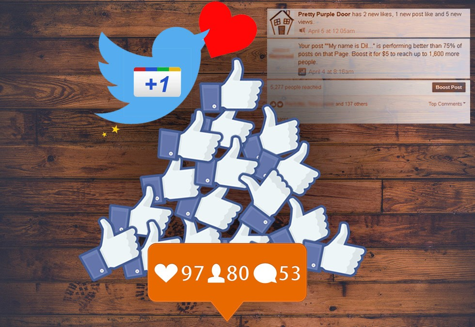 Get Likes on Social Media with this Simple Trick [Infographic]