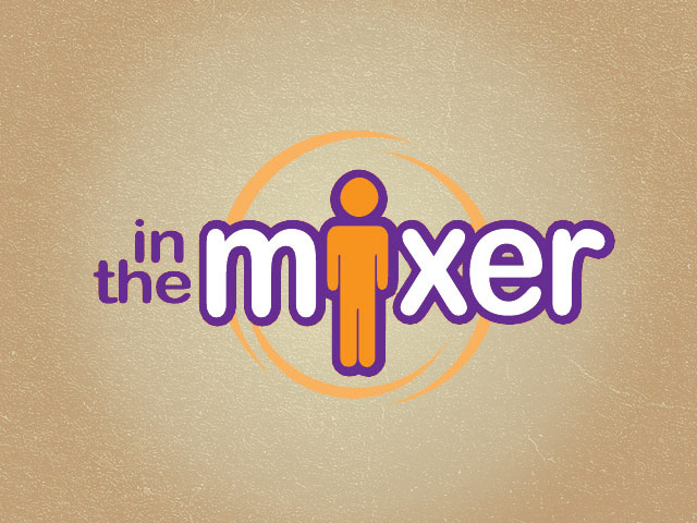 In the Mixer logo