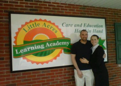 Little Acres Logo Signage