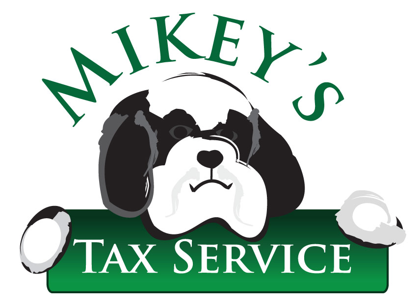 Mikey's Tax Service Logo Design