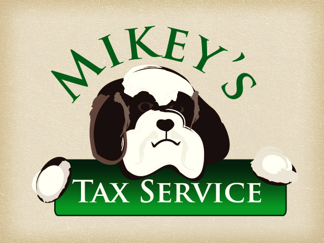 Mikey's Tax Service Logo