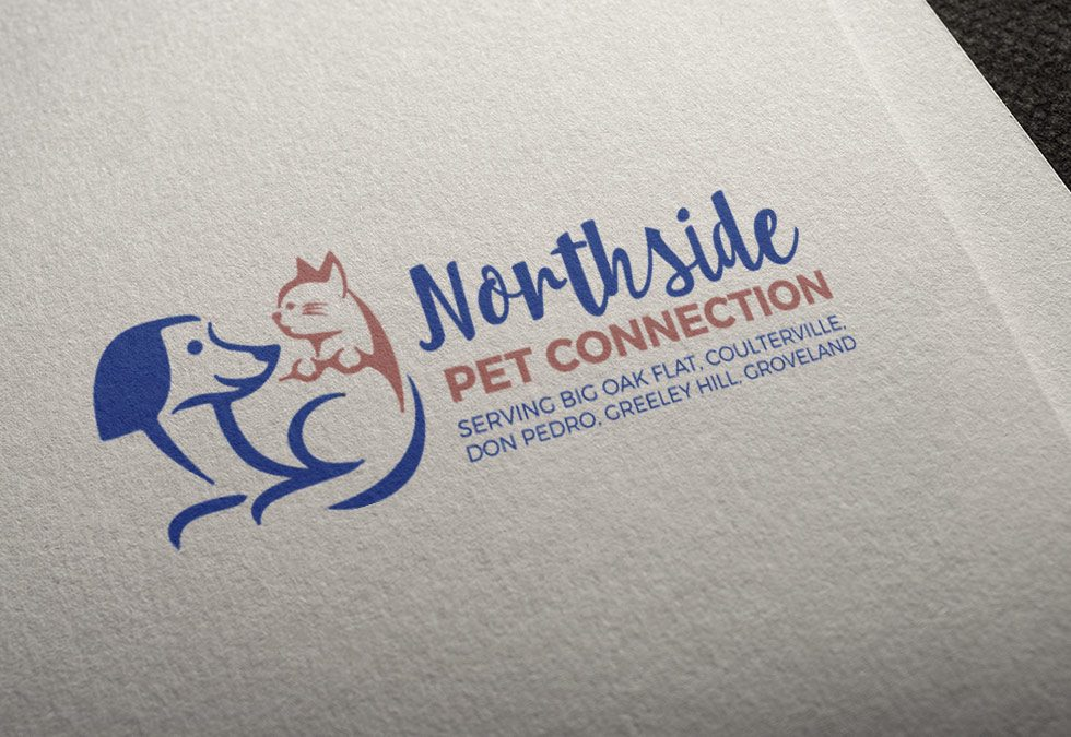 Northside Pet Connection Pet Logo Design
