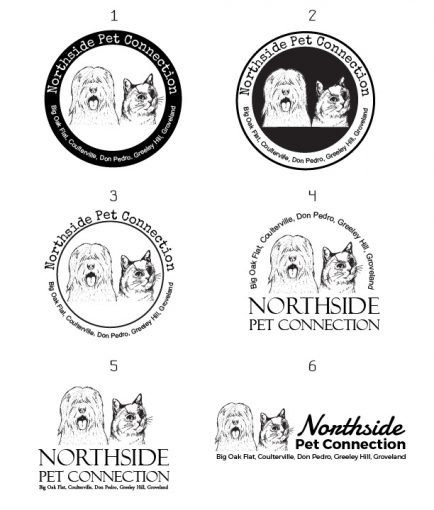 Northside Pet Connection Original Logo Update