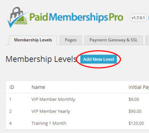 paid memberships
