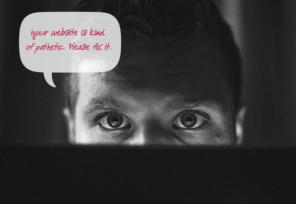 5 things people hate about your website