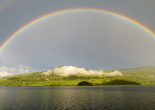 Rainbow, Canim Lake