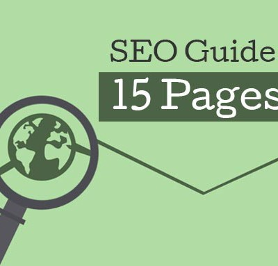 SEO Guide: 15 Pages of SEO Tips