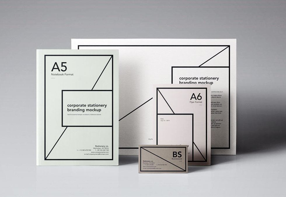 Stationary and Letterhead by BullzeyeDesign.com