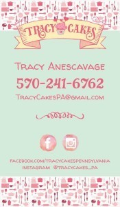 TracyCakes Business Card