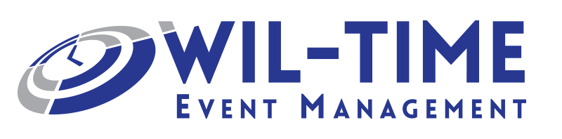 Wil-Time Event Management Logo Design